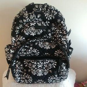 NWT VERA Bradley Essential Compact Backpack